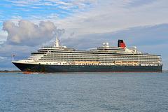 QUEEN VICTORIA arriving Southampton