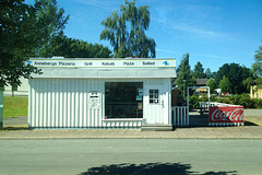 Annebergs Pizzeria, 15.8. 2015 - Wie oft bin ich da schon dran vorbei gekommen?