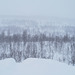 Lapland, Snowing
