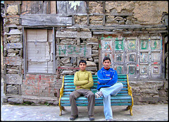 Young men in Chamba