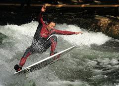 Surfer à Munich