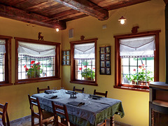 Bousson : restaurant room interior view - (697)