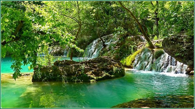 Kursunlu : cascate e laghetti