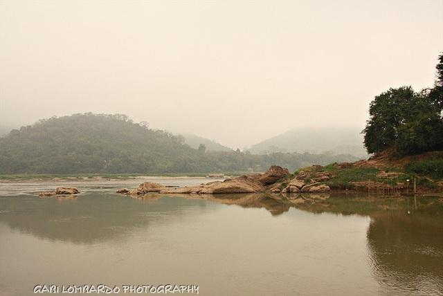 at the Mekong river (Laos) - 1