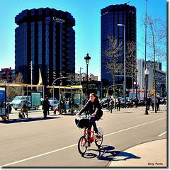 Torres laCaixa - Diagonal - BCN