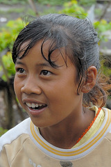 Bali Aga girl Sujatmi in Trunyan