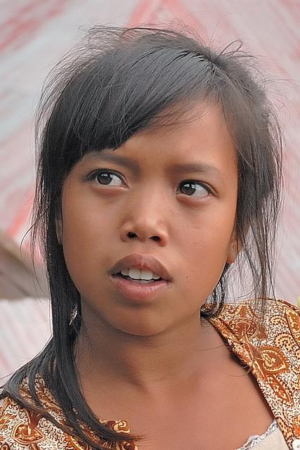 Bali Aga girl Lintang