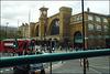 passing Kings Cross Station