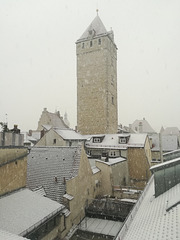 first snow tower
