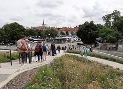 BUGA 2021 in Erfurt, Abstieg vom Petersberg
