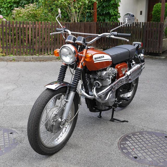 Honda CL 450 K3 - 1970