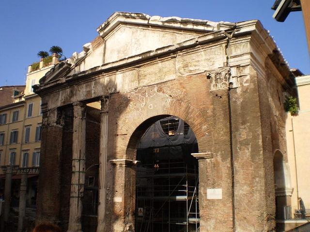 Octavia's Portico.