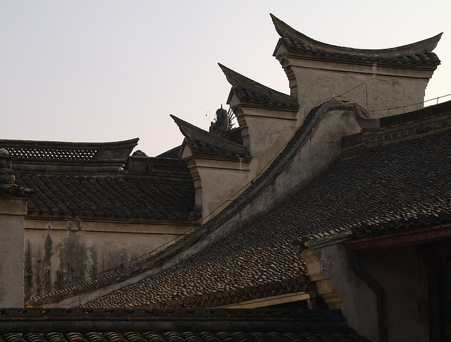 Roof at Tianyige Library