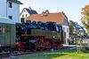 09 - Sonderzug mit 86 1333-3 der PRESS im Bahnhof Raschau-Markersbach