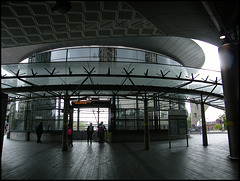 dreary new bus station