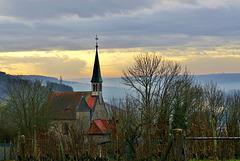 Morgendämmerung im Maintal - Dawn in the river Main valley