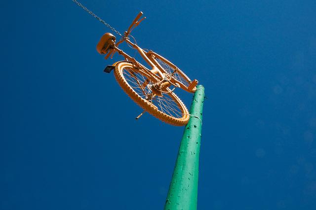 Vélo pour l'espace