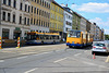 Leipzig 2017 – Straßenbahnmuseum – Ikarus Z80 leaving