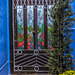 Painted door: HFF
