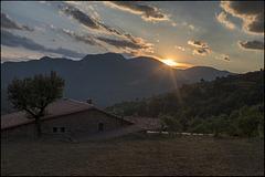 Posta de sol a Bruguera