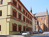 Wismar, Fürstenhof und Georgenkirche