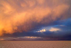 Sunset on the Salar (PiP)
