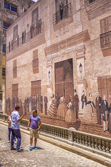 Gran Mural de la historia y las artes (Huge Mural of history and arts)