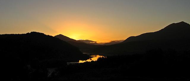 Glen Garry Sunset (Lochaber)