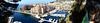 MONACO: Panorama de Fontvieille depuis le jardin Saint-Antoine.