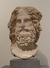 Marble Head of Zeus Ammon in the Metropolitan Museum of Art, May 2012