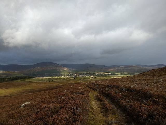Kingussie from the South