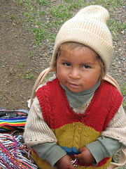 A funny smile from Pisac-Cuzco