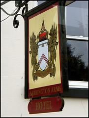 Barrington Arms sign
