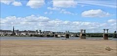 La Loire à Ingrandes (49) 15 juin 2013.