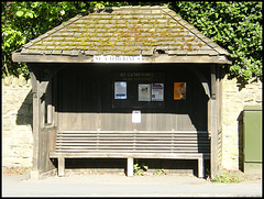 St Catherine's bus shelter