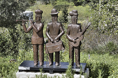 """The Three Angels of Music"" – Artists' Village, Ein Hod, Haifa District, Israel"