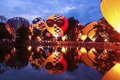 Balloons On The Lake