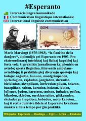 #Esperanto Marie Marvingt EO