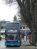 First Kernow 33477 in Falmouth - 4 February 2018