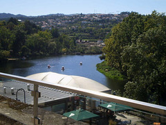 Overview to River Tâmega.