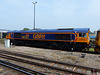 66737 'Lesia' at Eastleigh - 12 May 2016