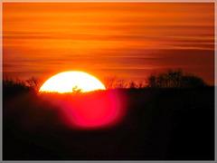 Coucher de soleil sur les bords de Rance (22)