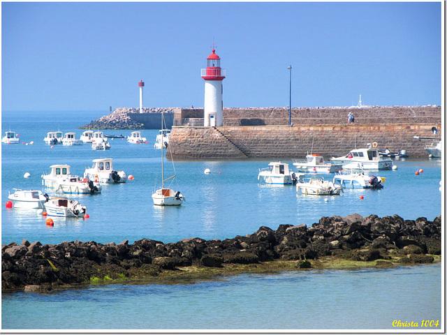 Sea - sun - lighthouses
