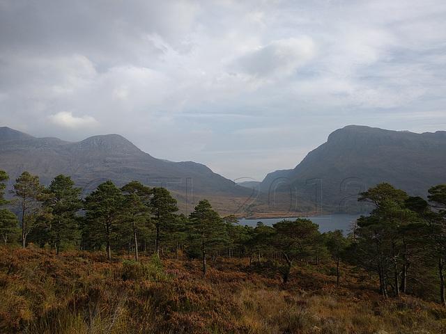 Loch Maree and part of Slioch