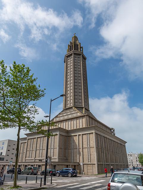 Die Kirche St. Joseph in Le Havre