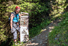 """1,970m - Entrance to the Climbing Route """"Heini Holzer"""""""