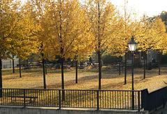 Magdeburg: Park und Gartenlokal an der Bastion Cleve