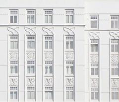 Weiße Fassade in Hamburg-Eppendorf (3xPiP)