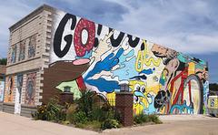 Façade Godoigt / Gofinger wall