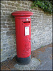 Edward VII pillar box